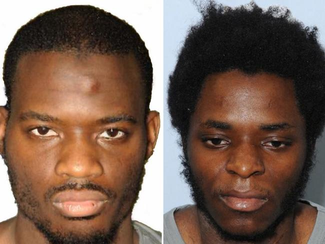 Killers ... Michael Adebolajo (left) and Michael Adebowale (right) who were found guilty of the murder of British soldier Lee Rigby. Picture: London Metropolitan Police