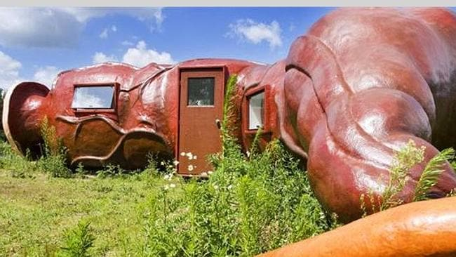 THE outside is probably a little too realistic for many visitors' tastes. Picture supplied www.unusualhotelsoftheworld.com