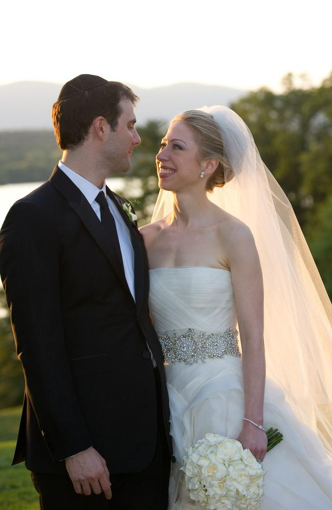 Chelsea Clinton married her longtime boyfriend Marc Mezvinsky in July 2010, ending weeks of secretive build-up about the former first daughter's wedding.