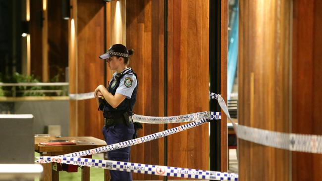 A man has been killed and a woman injured in an alleged stabbing attack at Westfield Hornsby. Picture: Bill Hearn