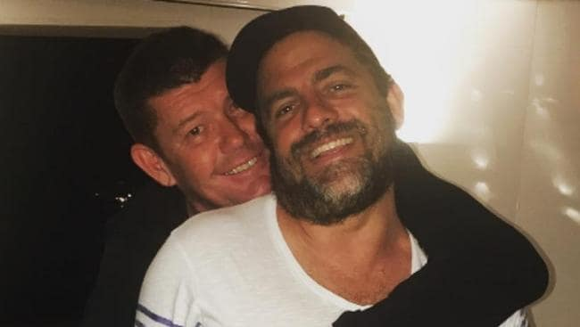 Bromance over? James Packer and Brett Ratner. Picture: Supplied