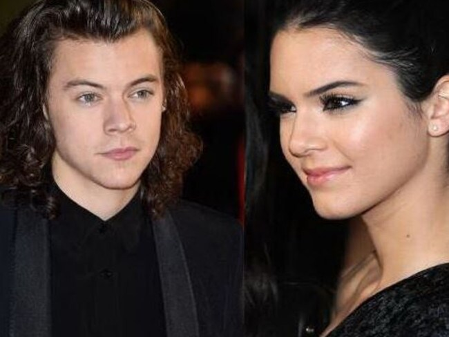 Romance ... Harry Styles and Kendall Jenner are apparently an item again. Picture: Supplied