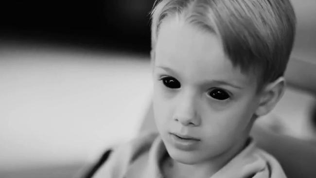 What is it with horror films and WEIRD CHILDREN?