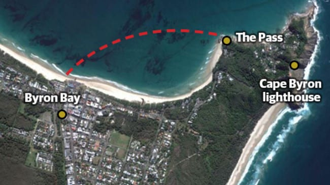 shark attack byron bay - photo #10