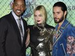 NEW YORK, NY - AUGUST 01: (L-R) Actors Will Smith, Margot Robbie and Jared Leto attend the Suicide Squad premiere sponsored by Carrera at Beacon Theatre on August 1, 2016 in New York City. (Photo by Bryan Bedder/Getty Images for Carrera)