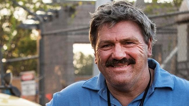 AFL legend Brian Taylor was in hot water after making a homophobic slur on live TV. Picture: Wendy McDougall