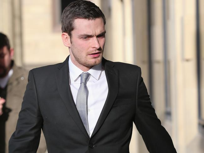 Adam Johnson told the court he 'regrets' his actions. Picture: Christopher Furlong/Getty Images
