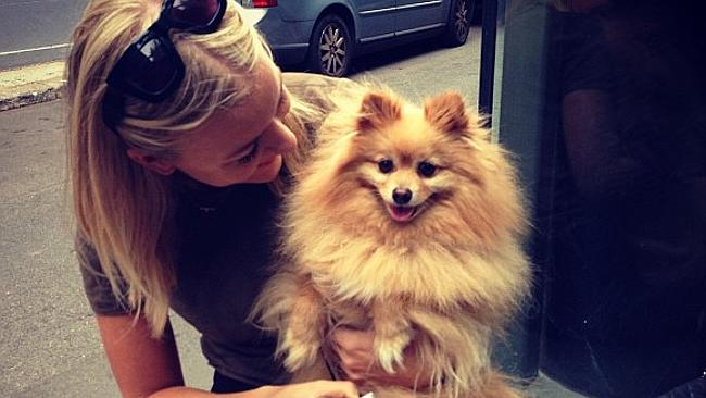 Girls and dogs. They're obsessed. Picture: Instagram