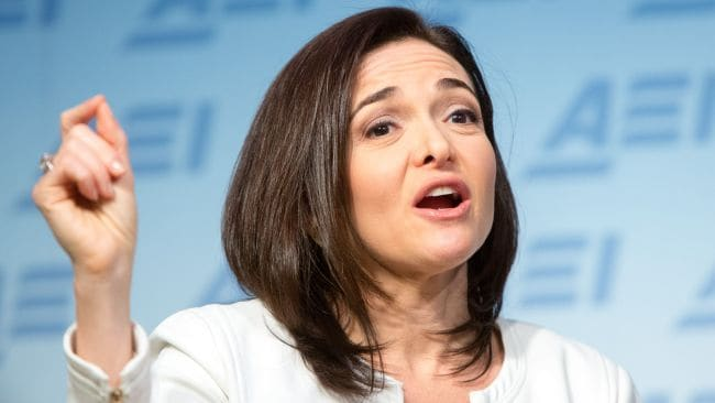Facebook's Sheryl Sandberg would never let an opportunity to up-skill go to waste. Photo: Allison Shelley/Getty Images/AFP