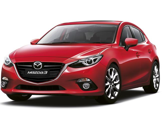 Racing to beat Toyota ... Mazda is in a neck-and-neck battle with Toyota. Picture: Supplied
