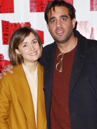 Rose Byrne and Bobby Cannavale back in 2014. Picture: Supplied