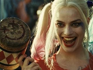 Margot Robbie as Harley Quinn in a scene from Suicide Squad. Warner Bros pictures