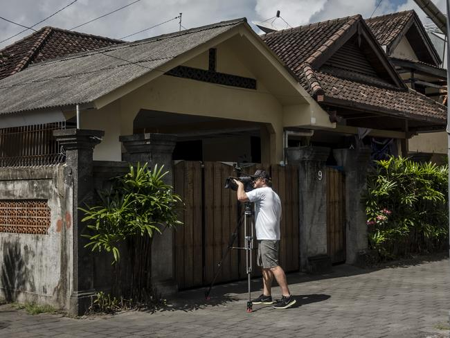 The villa where Schapelle Corby has been living in Bali, Indonesia. Picture: Getty