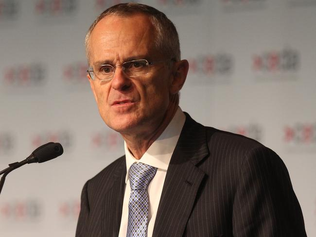 "Rod Sims ... The ACCC Chairman has criticised a ""lack of robust competition"" in the petrol market. Picture: Adam Smith"