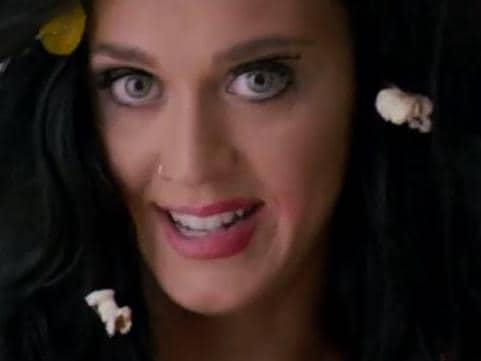 Katy Perry strips naked for US election