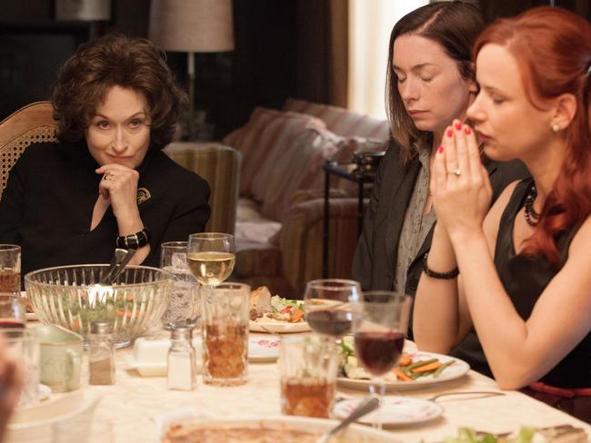 Meryl Streep in 'August — Osage County'. Picture: AFP