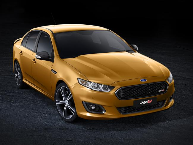 Slick and sophisticated ... the 2015 Ford Falcon XR8.