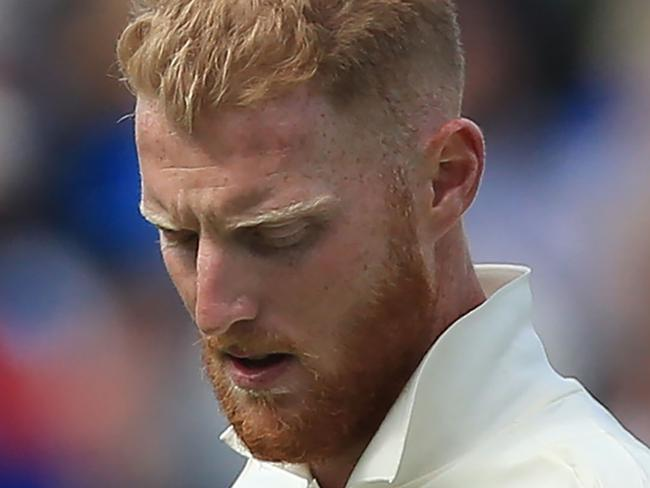 (FILES) This file photo taken on August 19, 2017 shows England's Ben Stokes preparing to bowl during play on day 3 of the first Test cricket match between England and the West Indies at Edgbaston in Birmingham, central England. Ben Stokes will not travel with the England squad to Australia on October 28 but no final decision on his involvement in the Ashes has been taken, the ECB said October 6, 2017. / AFP PHOTO / Lindsey PARNABY / RESTRICTED TO EDITORIAL USE. NO ASSOCIATION WITH DIRECT COMPETITOR OF SPONSOR, PARTNER, OR SUPPLIER OF THE ECB