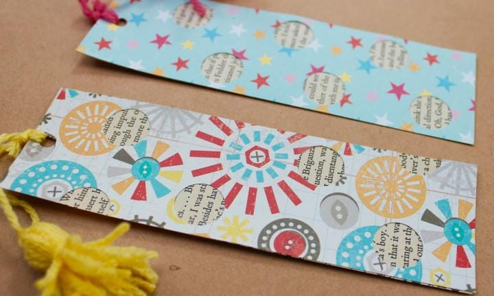 Celebrate Book Week with this crafty bookmark project
