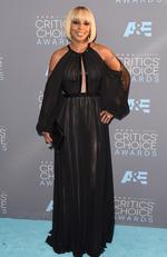 Mary J. Blige attends the 21st Annual Critics' Choice Awards on January 17, 2016 in California. Picture: AFP
