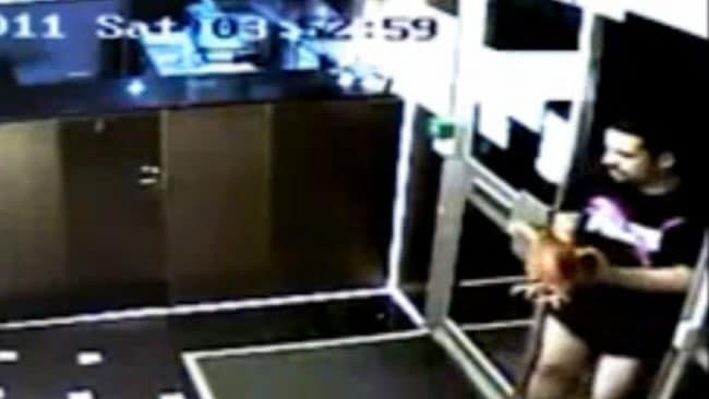 The prank went horribly wrong when two chickens died after being released. Picture: CCTV