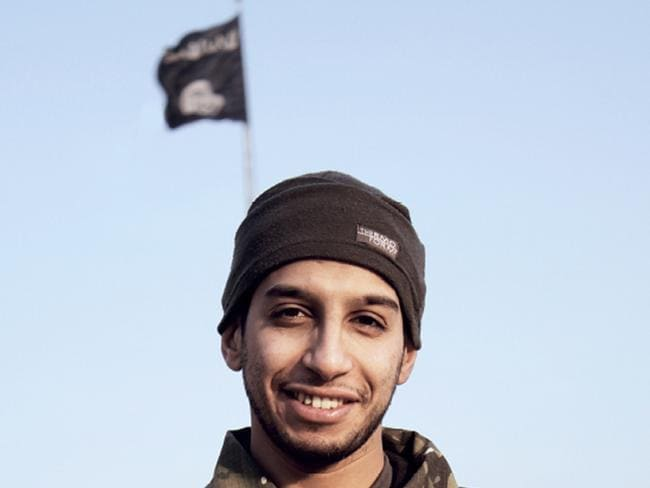 Terror architect ... Abdelhamid Abaaoud was killed in raids after planning the November 25 Paris attacks. Picture: AP/DABIQ