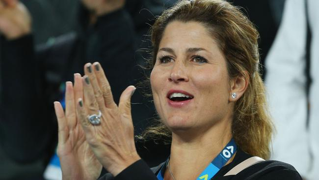 Image result for mirka at 2017 australian open