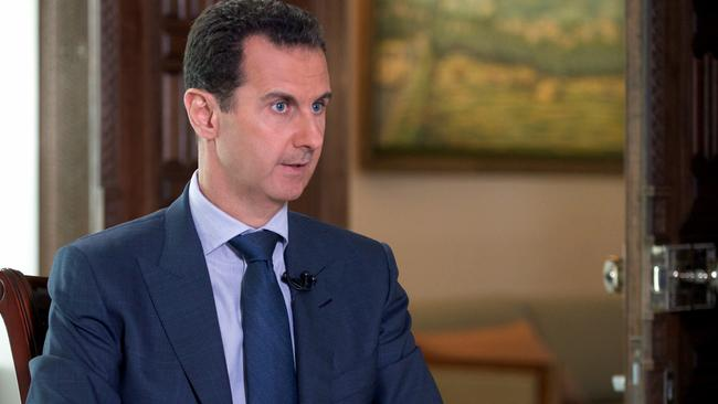 Australia's air strike on Syrian troops was an 'intentional' act, says President Bashar al-Assad