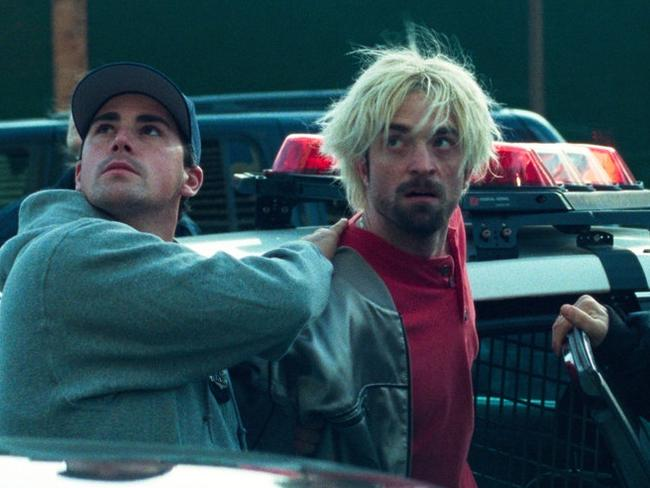 Robert Pattinson in a scene from Good Time.