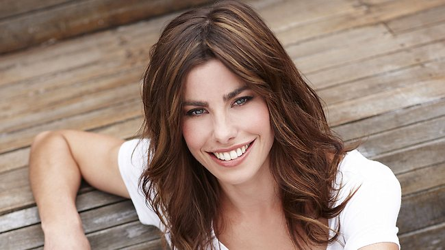 Brooke Satchwell appears in Packed to the Rafters. Picture: Channel 7