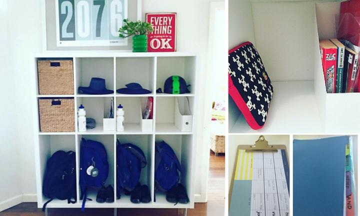 This mum nails school organisation with her 'School HQ' hack