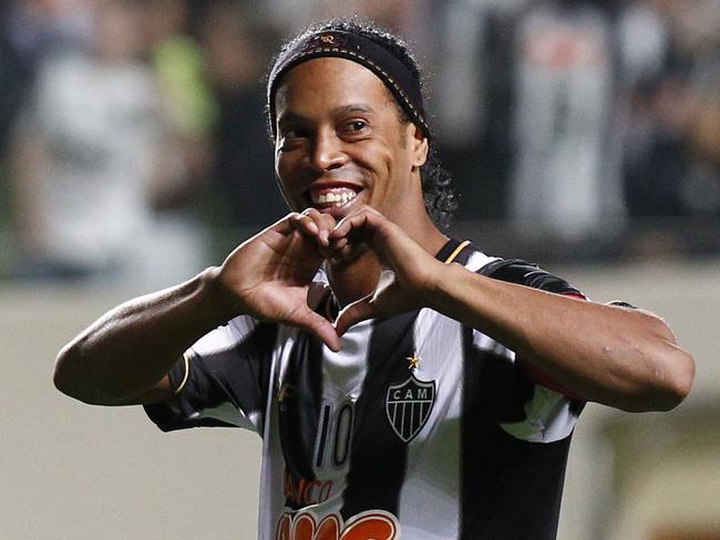 Brazil's Atletico Mineiro's Ronaldinho.