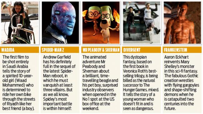 ....Films to take over the cinema