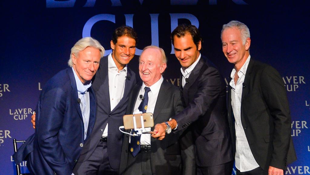 Image result for Laver wants Federer v Nadal Australian Open final