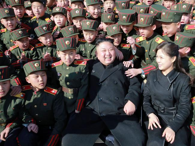 North Korea's latest missile launch is timed to frustrate its enemies. Picture: AFP/ KCNA via KNS