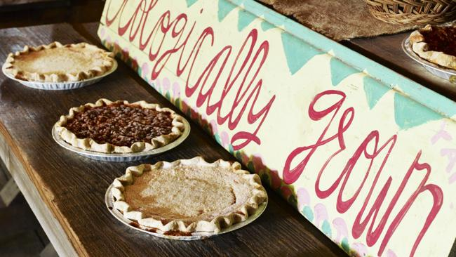 Pie Ranch pies for sale. Picture: Andrew Montgomery, Lonely Planet Traveller Magazine
