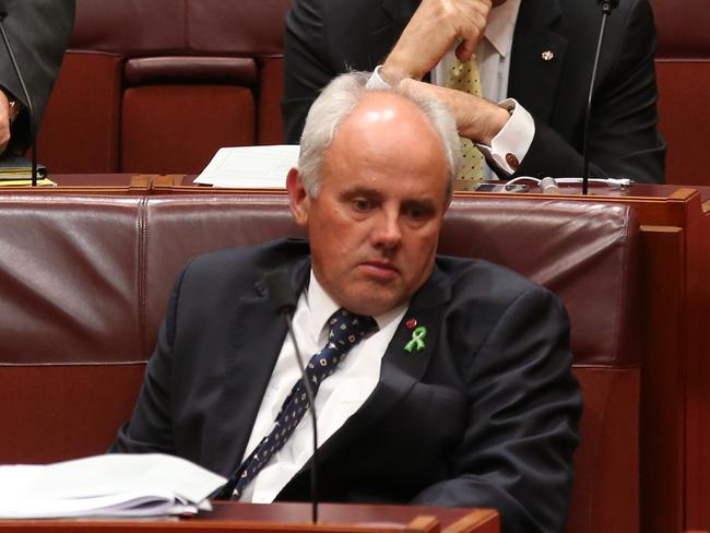 Losing the will to live. Senator John Madigan. Picture: Kym Smith