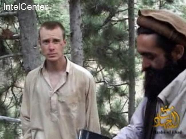Returned ... This still image provided on December 7, 2010 shows US Sergeant Bowe Bergdahl (L), who has been held hostage by the Taliban since his disappearance from his unit on June 30, 2009.