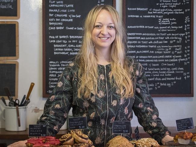 Claire Ptak, the owner of Violet Bakery, started her business with a market stall. Picture: MEGA TheMegaAgency.com.