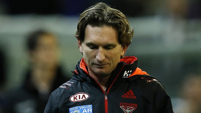 AFL Round 19:Collingwood v Essendon. MCG. james Hird, post game, Picture: Ludbey Wayne