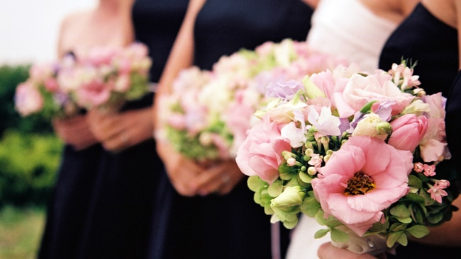 Black is now popular with bridesmaids. Image: iStock.