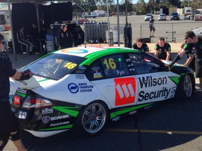 DJR tested at Queensland Raceway last week. Pic: Scott Pye