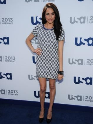 Meghan Markle at a USA Network event in 2013. Picture: Ilya Savenok/USA Network/NBCU Photo Bank via Getty Images