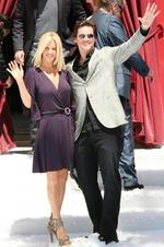 "<p>Actors Jim Carrey, 48, and 37-year-old Wendy McCarthy each announced the end of their five year partnership via Twitter in April 2010. Carrey tweeted ""Jenny and I have just ended our 5yr relationship. I'm grateful 4 the many blessings we've shared and I wish her the best best! S'okay!""</p>"