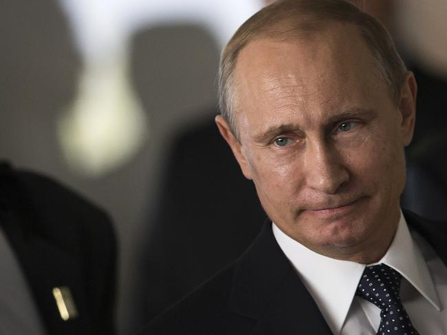 Four of Putin's closes aides have been slapped with harsh EU sanctions in recent days Pic: AP Photo/Felipe Dana.