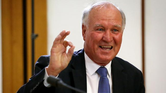 Tony Windsor has a solid chance at seizing the seat of New England from Deputy Prime Minister and Nationals leader Barnaby Joyce. Picture: Ray Strange