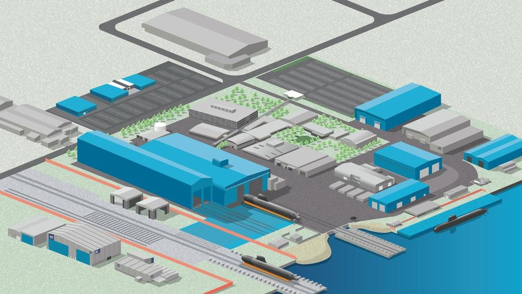 Osborne naval shipyard to be expanded for 50 billion dcns for Architecture jobs adelaide