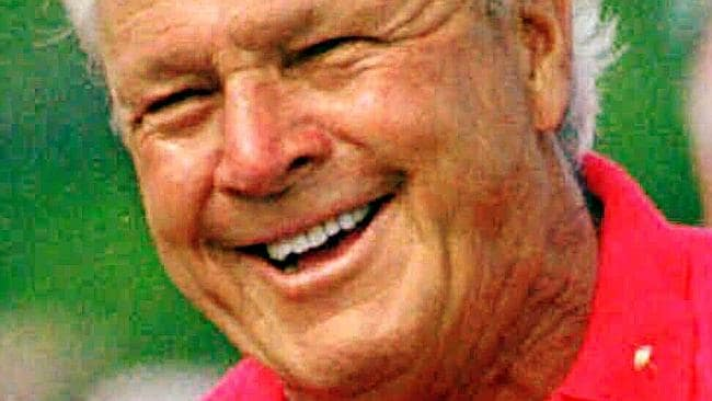 Arnold Palmer is the poster boy for golf's good guys.