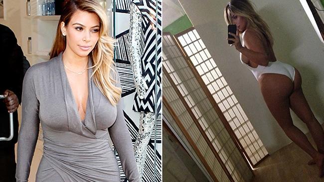 Kim Kardashian isn't shy about showing off her body.