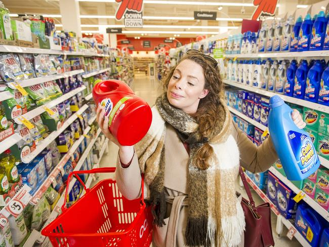 The Consumers Association wants to see the rules extended to cover supermarkets under 1000 sq metres and expanded to other shops such as pharmacies and hardware stores. Picture: Eugene Hyland